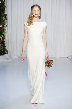 The Anne Barge Fall/Winter 2018 collection is an interpretation of nature's midnight garden. An escape into a fanciful garden that inspires all things feminine – a delicate tracery of ribbons and bows, a whisper of pink, dreamy layers of floral lace. Hair and makeup are kept sleek and simple, with smooth, swept back ponytails held …