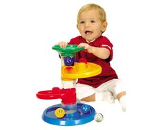 Your busy toddler will learn cause and effect, and build fine motor skills with the Rollipop Starter Set from Edushape. Hours and hours of fun guaranteed...