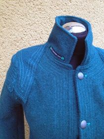 upper palatinate rocks: WOMEN 2013: lodenjacke ozeanblau