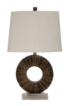Dunkin Painted Wood Finish Transitional Table Lamp with Brushed Steel Base 100 Watts 3-Way. #shopgahs #ohmygahs #lighting #tablelamp #lamp #bedroom #livingroom #guestroom #den #diningroom #readingnook #hallway #entryway #familyroom