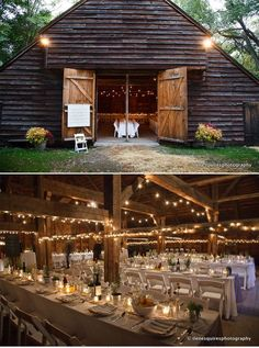 40 Best Country Barn Wedding Ideas to Love The old-fashioned rustic barn weddings are always popular for a reason. The smell of wood and hay, the cool breeze and the comfy weather all make the country barn wedding intriguing. Country Barn Weddings, Gray Weddings, Simple Weddings, Wedding Country, Beach Weddings, Outdoor Weddings, Weddings In Barns, Perfect Wedding, Fall Wedding