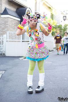 Kawaii Harajuku Decora Fashion w/ Hair Clips, Pinwheel & 6%DOKIDOKI - Tokyo Fashion News