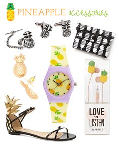 Pineapple Accessories pineapples on parade necklace. the pineapples are on parade, boy
