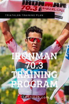 Ironman 70.3 Training Program #ironmantri #ironman #swimbikerun #triathlon #triathlete #thetrihub #swimming #cycling #running #konatri #kona #endurance #neverstopexploring #ironman703 #ttbike #halfironman Olympic Triathlon, Ironman Triathlon, Half Ironman Training Plan, Triathlon Training Program, Training Programs, Triathlon Motivation, Bike Run