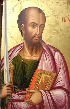 Byzantine Art, Byzantine Icons, Abrahamic Covenant, Paul The Apostle, Jesus Christ Images, Russian Icons, Orthodox Christianity, Catholic Saints, Christian Art