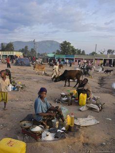 Market, Jinka, Lower Omo Valley, Ethiopia. Photo: Jane Sweeney