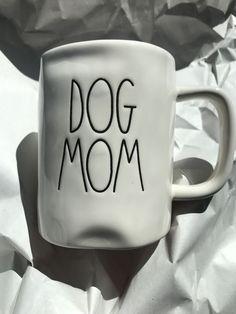 New Rae Dunn Dog Mom Mug By Magenta #RaeDunn
