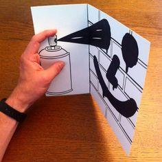 HuskMitNavn-transforme-ses-dessins-en-3D-avec-des-pliages-et-des-decoupes-22 HuskMitNavn transforme ses dessins en 3D avec des pliages et des découpes