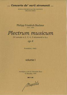 Plectrum musicum op. 4 (Frankfurt, 1662)