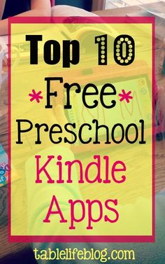 Thanks to the great selection of Kindle apps for preschoolers,theKindle Fire has turned into one of ourfavorite day-to-day resources in our homeschool.