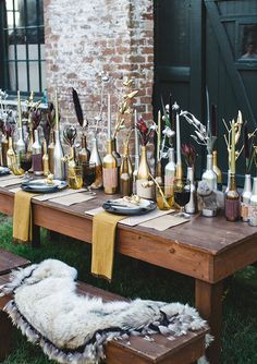 Thanksgiving inspired wedding inspiration | photo by Izzy Hudgins Photography | 100 Layer Cake