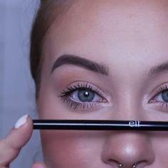 Eyebrows tutorial - Makeup Tips For Older Women Makeup Dupes, Eyebrow Makeup, Skin Makeup, Makeup Eyebrows, Beauty Make-up, Beauty Hacks, Makeup Inspo, Makeup Inspiration, Makeup Pictorial