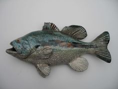My idea of an urban aquarium: pottery fish!