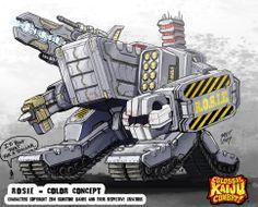 Colossal Kaiju Combat - Rosie by KaijuSamurai.deviantart.com on @deviantART