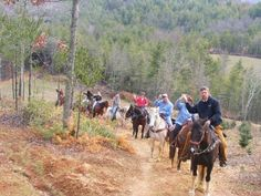 Trail Rides - Burnthill Stables near Boone, NC