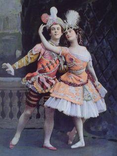 Nijinsky-pavlova, Ballet Russe