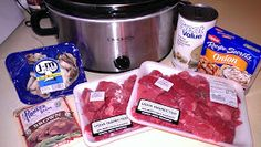 Beed Tips and Gravy - Crockpot: Beef Tips and Gravy - Crockpot