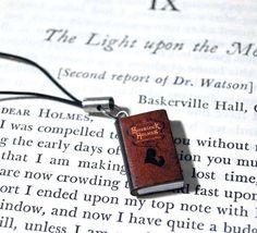 Sherlock Holmes Book Pendant