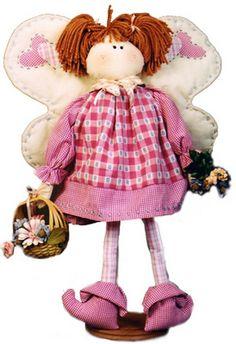 Artesanato Fofo: Boneca ou bichinho de pano