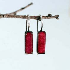 PORCH LIGHT | ruby jade earrings