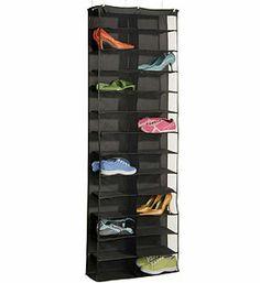 Gearbox Polyester 26 Pocket Over the Door Organizer Over The Door Organizer, Door Shoe Organizer, Cabinet Organizers, Over Door Shoe Rack, Shoe Racks, Shoe Holders, Laundry Room Doors, Stuffed Animal Storage, Shoe Shelves