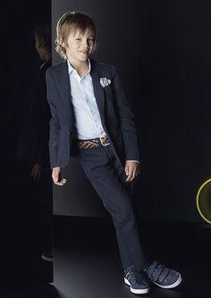 Armani Junior SS14, colecciones elegantes para niños http://www.minimoda.es