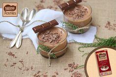 Mousse de chocolate con leche
