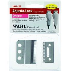 Wahl Adjusto-Lock Clipper Blade For Senior, Designer, Sterling 4, Sterling 1 Plus #1005-100 $12.49 Visit www.BarberSalon.com One stop shopping for Professional Barber Supplies, Salon Supplies, Hair & Wigs, Professional Product. GUARANTEE LOW PRICES!!! #barbersupply #barbersupplies #salonsupply #salonsupplies #beautysupply #beautysupplies #barber #salon #hair #wig #deals #sales #wahl #trimmer #clipper #blade #senior #designer #sterling4 #sterling1plus #1005100