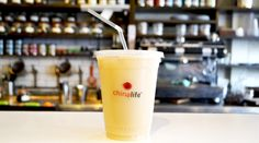 chinalife Iced Silk Road milky #tea #cocktail is an incredibly creamy brew, with a mango aroma mixed with toasted barley for a delicious finish.