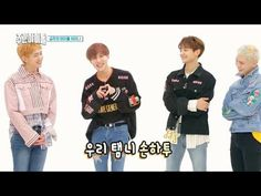 "Watch: SHINee Hilariously Battles The Cringe When They Do Aegyo For Their Anniversary On ""Weekly Idol"" Taemin, Shinee, Vixx, Tenth Anniversary, Weekly Idol, Kpop, Mini Albums, Battle, Graphic Sweatshirt"