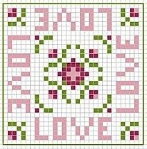 cross stitch chart Cross Stitching, Cross Stitch Embroidery, Embroidery Patterns, Cross Stitch Patterns, Cross Stitch Needles, Cross Stitch Heart, Love Valentines, Valentine Ideas, Cross Stitch Pictures