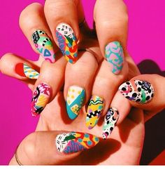 Mar 3 2020 - 20 amazing tips to make your nail polish dry faster 44 . - Mar 3 2020 – 20 amazing tips to make your nail polish dry faster 44 na - Nail Art Cute, Cute Nails, Pretty Nails, How To Nail Art, Nail Designs Spring, Nail Art Designs, Fingernail Designs, Creative Nail Designs, Nail Art Abstrait