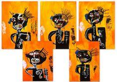 les petites têtes de l'art: Basquiat par les enfants de Basquiat