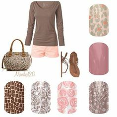 Jamberry Nail Wraps ask me how to get some free! www.lesliemonroe.jamberrynails.net
