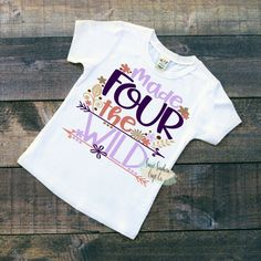 FREE SHIPPINGMade FOUR the Wild Adventure by SweetSouthernCraftCo
