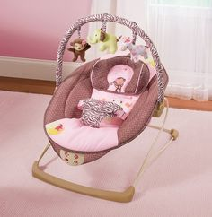 Image Gallery newborn baby girl bouncer