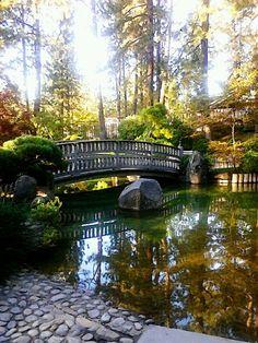 Manito Park. Spokane Washington.