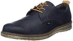 Oferta: 39.95€ Dto: -25%. Comprar Ofertas de XTI Cro C, Zapatos de Cordones Derby Para Hombre, Azul (Navy), 42 EU barato. ¡Mira las ofertas!