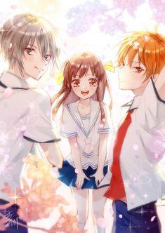 Yuki Sohma, Attack On Titan Aesthetic, Fruits Basket Anime, Gundam Wing, Anime Fantasy, Best Couple, Manga, The Past, Fan Art