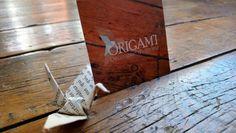 Carte de visite Origam'i