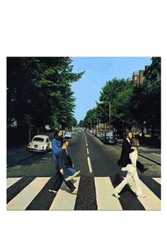 Abbey Road - The Beatles. This must have been one of the photo ideas that was scrapped !