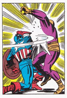Captain America vs Batroc the Leaper