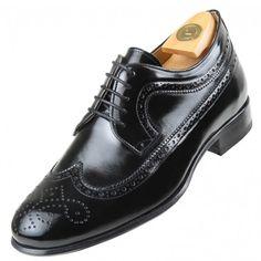 319a1103 Calzados HiPlus 3521 N en piel florantic. Sube de 6 a 7 cm de estatura. Los  zapatos con alzas ...