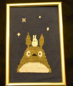 My Neighbor Totoro cross stitch