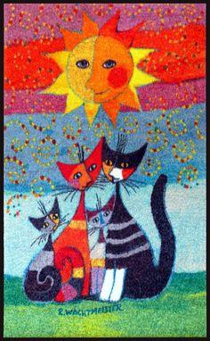 Les chats sous le soleil !