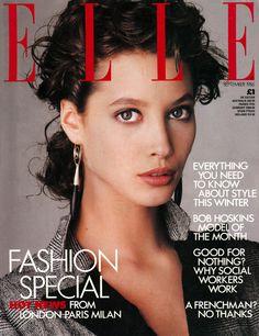 Christy Turlington - Elle UK September 1986