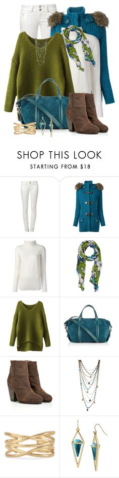 """""""Color Combo: Blue & Green"""" by cathy0402 ❤ liked on Polyvore featuring LTB, Bark, P.A.R.O.S.H., Barneys New York, Jigsaw, rag & bone, Bee Charming, Stella & Dot and Steve Madden"""