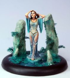 Woman Emerging From Water - Special Edition Miniatures - Miniature Lines