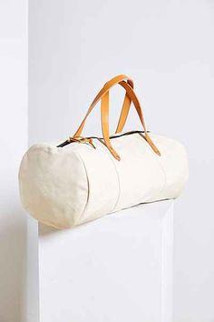 Joshu + Vela Canvas Weekender Duffel Bag