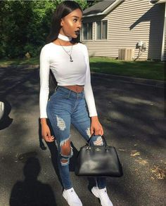 @jamieholleran14 Fashion Killa, Girl Fashion, Fashion Outfits, Womens Fashion, Fashion Trends, Style Fashion, Fall Outfits, Casual Outfits, Cute Outfits